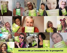 """Club du livre """"Conscience de la prosperité"""""""
