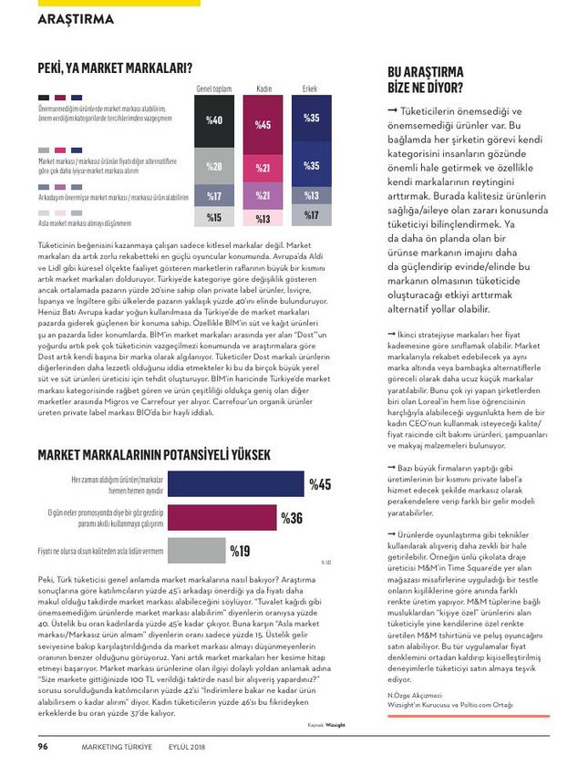rivate Label Araştırması 3. Sayfa