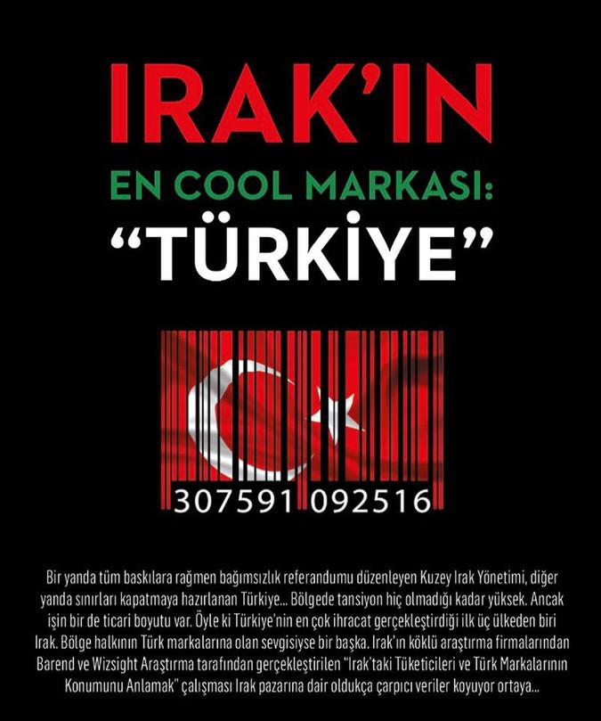 Irakın'ın En Cool Markası: 'Türkiye'