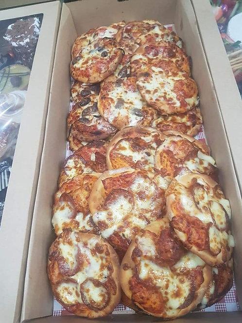 Mini pizza mixed selection x 20pcs