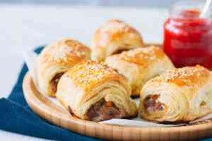 House made Italian Sausage rolls mini size x 12