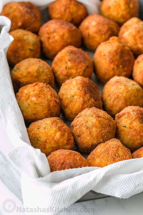 12 x Meat and Cheese Arancini