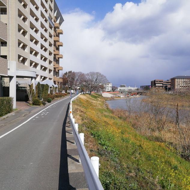 那珂川が流れてます!