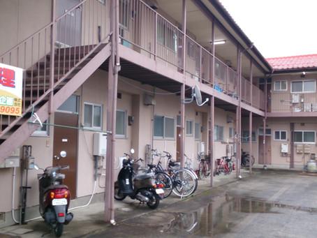 長嶺南7、2DKアパート、102空きました。