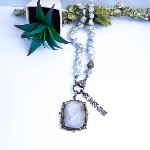 SUNSHINE Diamond Pendant