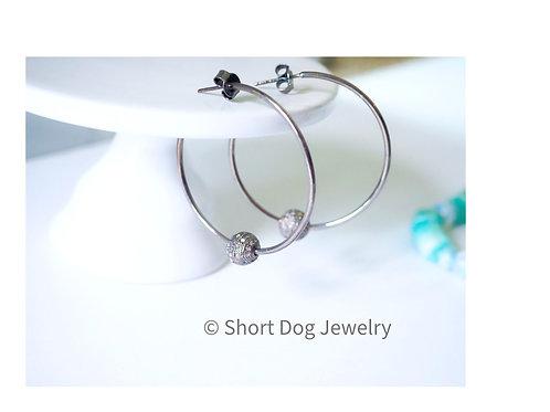 Interchangeable Hoop Earrings .....