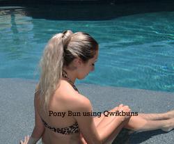 Pony bun
