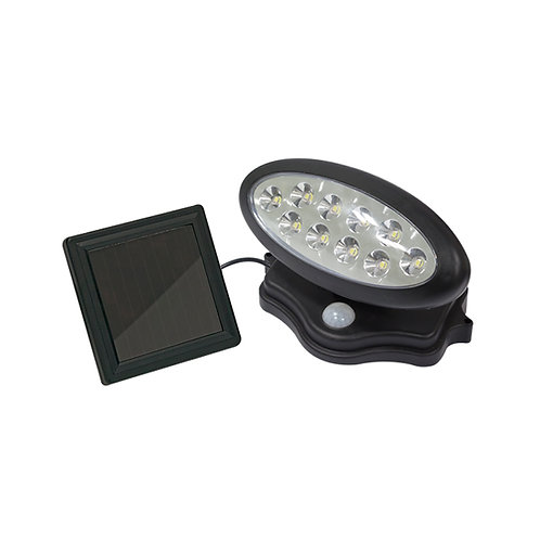 Luminario con fotocelda y sensor