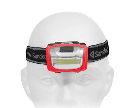 Linterna tipo Minero 10 Leds de pilas
