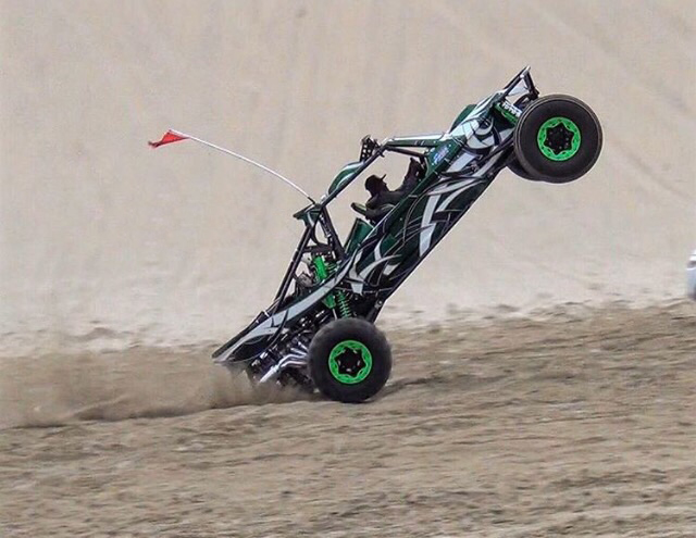 Matador wheelie in the flats
