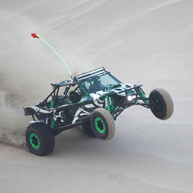 Matador uphill wheelie
