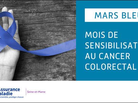 Mars Bleu : un mois pour le dépistage du cancer colorectal