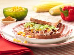 meat salad, food stylisme