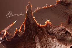 ganache, food photography