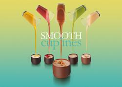smooth chocolates, food stylisme