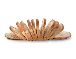 chia bread, food photography