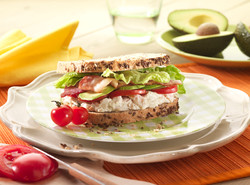 chicken salad, food photography