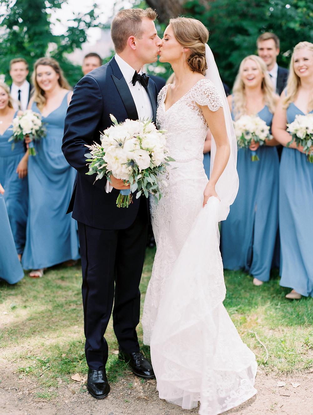 Something Blue Minneapolis Wedding At Machine Shop Mpls S J,Second Wedding Wedding Dress Mature Bride