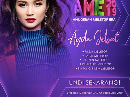 5 Nominations for Ayda Jebat
