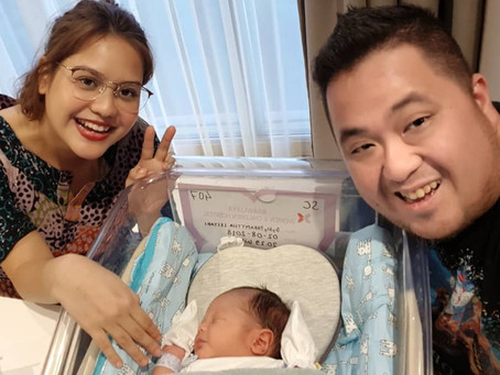 Mytha Lestari Welcomes Baby Kala
