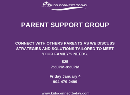 Parent Support Group - Friday January 4