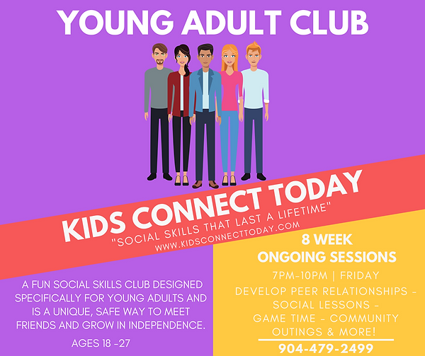 Jacksonville Young Adult Club Community Outings