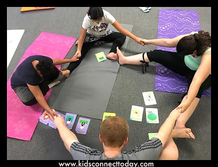 social skills with yoga