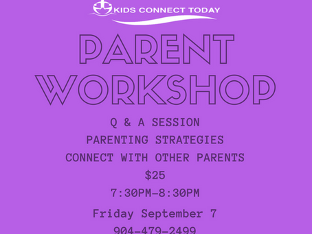 September Parent Workshop