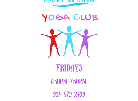NEW CLASS OFFERING:  YOGA CLUB