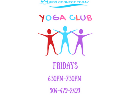 NEW CLASS OFFERING:  YOGA CLUB