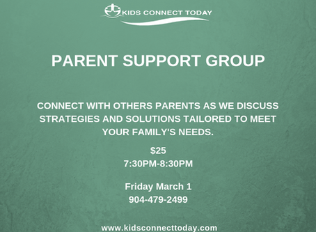 March Parent Support Group Meeting
