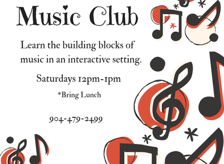 New Class: Music Club