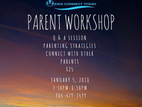 January Parenting Workshop