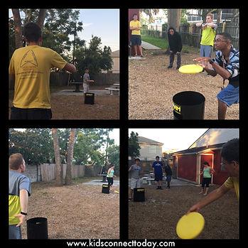 social groups playing Kan Jam