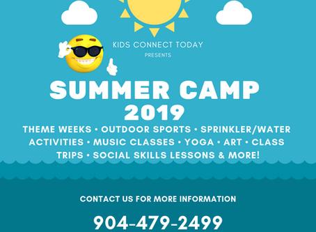 Summer Camp 2019 Registration is Open