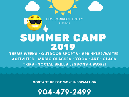 Summer Camp 2019 Registration is Open