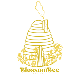 Blossom___Bee_Logo_Mustard_Outline.png