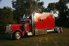 Customer's winning rig with PG Adams truck frames