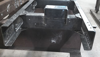 Newly Fabricated Truck Frame Assembly