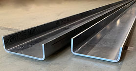 Continuous length blank truck frames