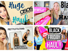 STOP watching haul videos.
