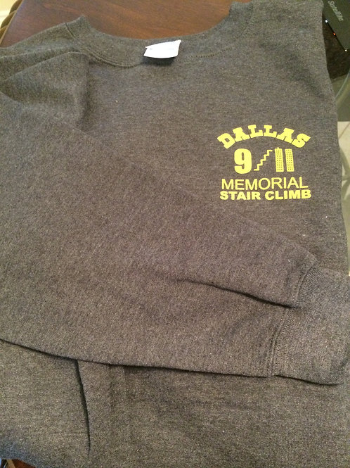 Fleece Sweatshirt Heather Grey