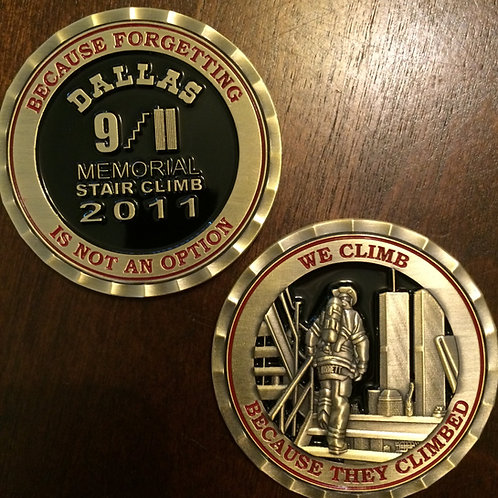 2011 Inaugural/Commemorative Challenge Coin