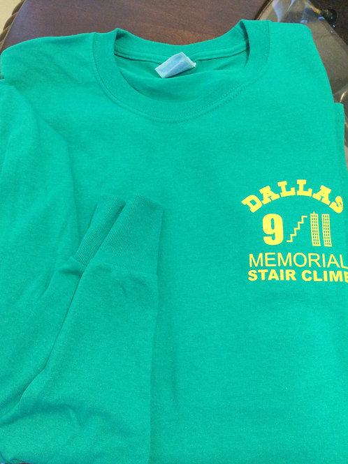 Long Sleeve Green T-Shirt
