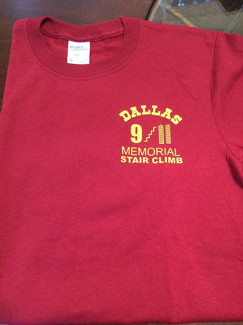 Burgundy Childrens T-Shirt