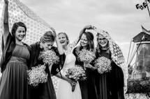 Japon vintage trouwjurken - echte bruid