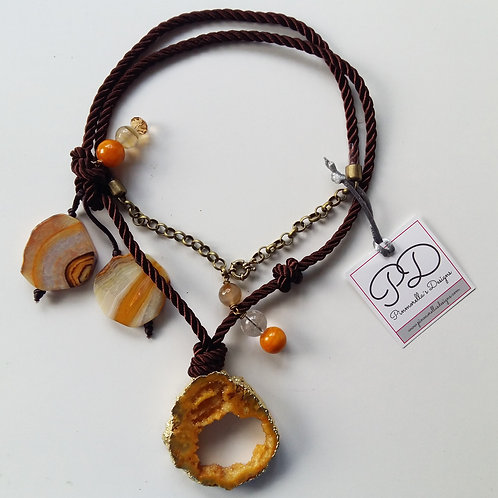 CINNAMON AND CURRY NECKLACE // COLLAR CANELA Y CURRY