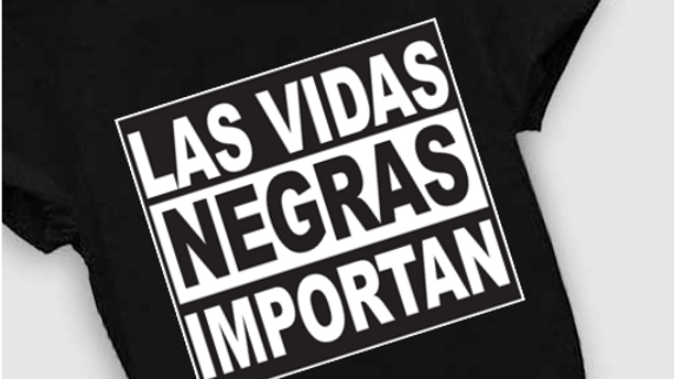 Spanish Kids Black Lives Matter T-Shirt