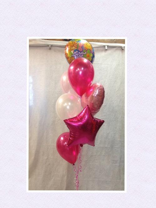 Hope You're Feeling Better Balloon Bouquet