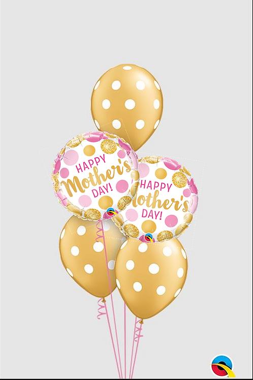 Mother's Day Polka Dot Balloon Bouquet